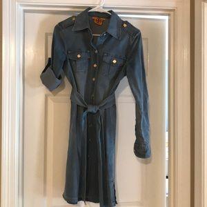 Tory Burch denim dress size 2.